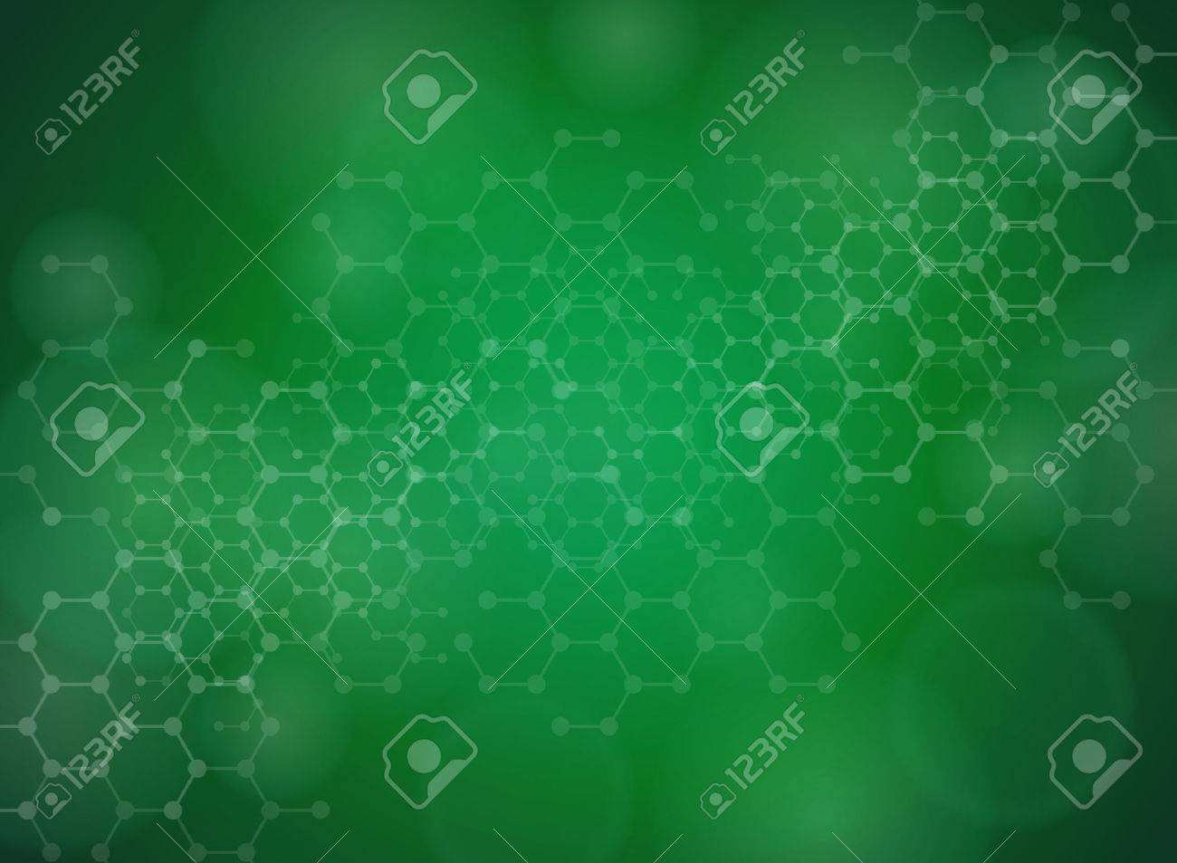 Abstract molecules medical background - 25431249