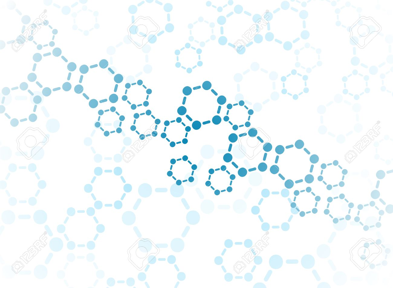Abstract molecules medical background - 31834679