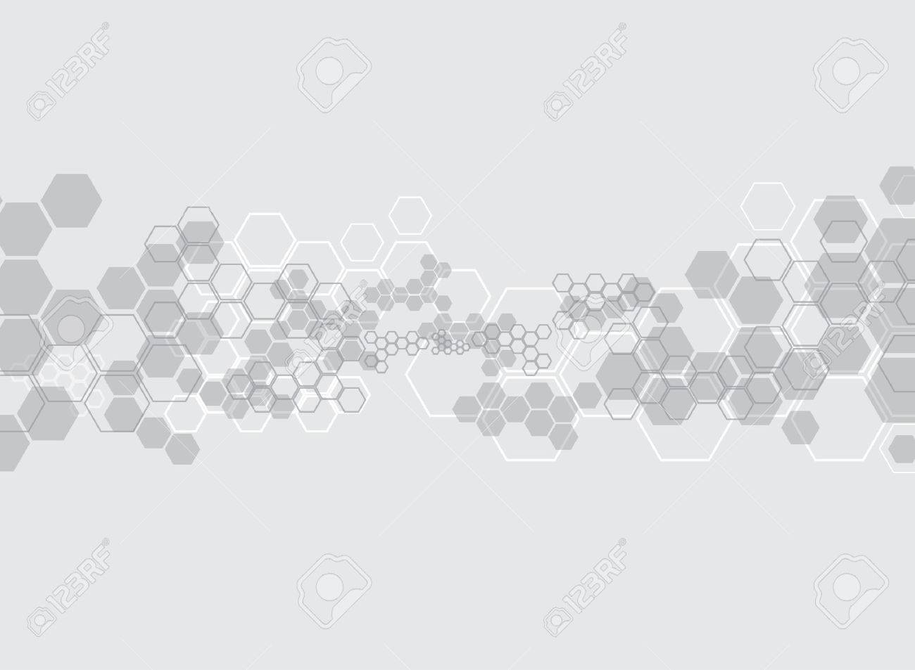 Abstract background medical substance and molecules. - 37128818