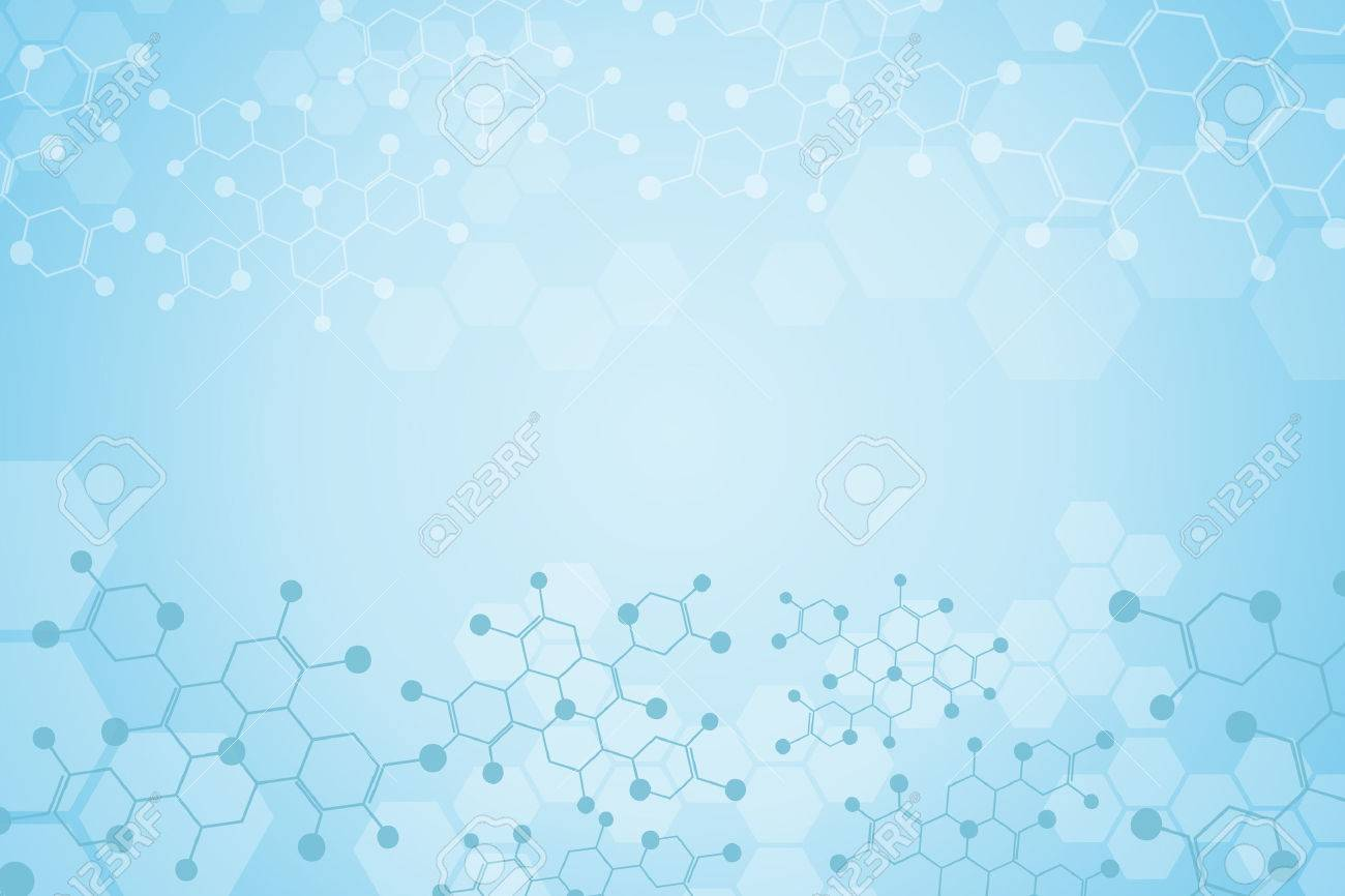 Abstract background medical substance and molecules. - 39537739