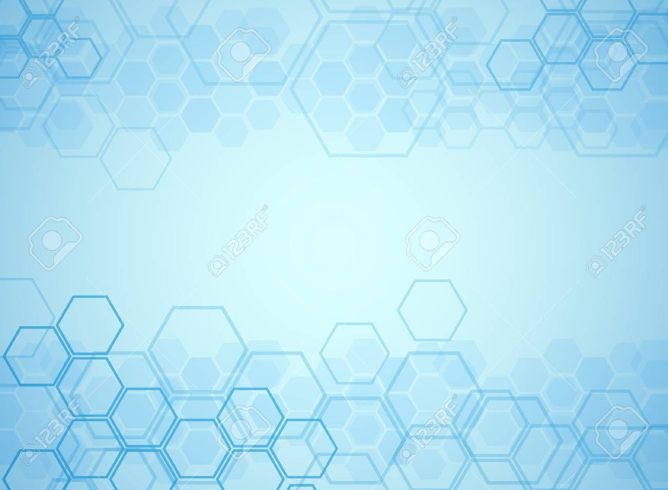 Abstract molecules medical background - 39538157