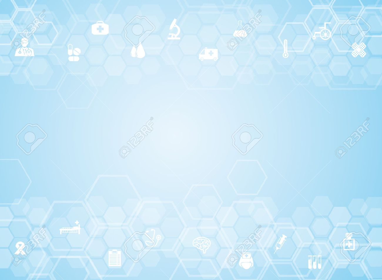 Medical background and icons to treat patients. Stock Vector - 40534275