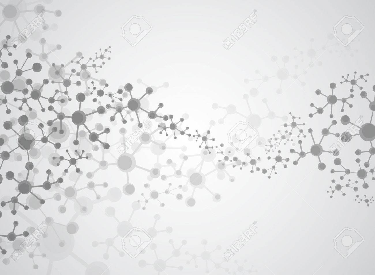 Abstract background medical substance and molecules. - 48125878