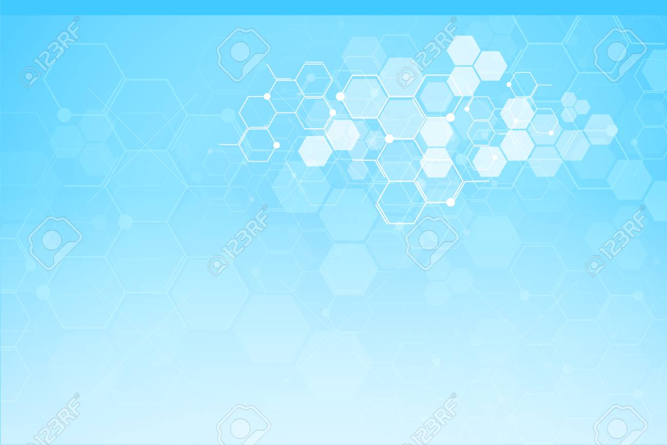 Abstract medical background and science concept background. - 124822896