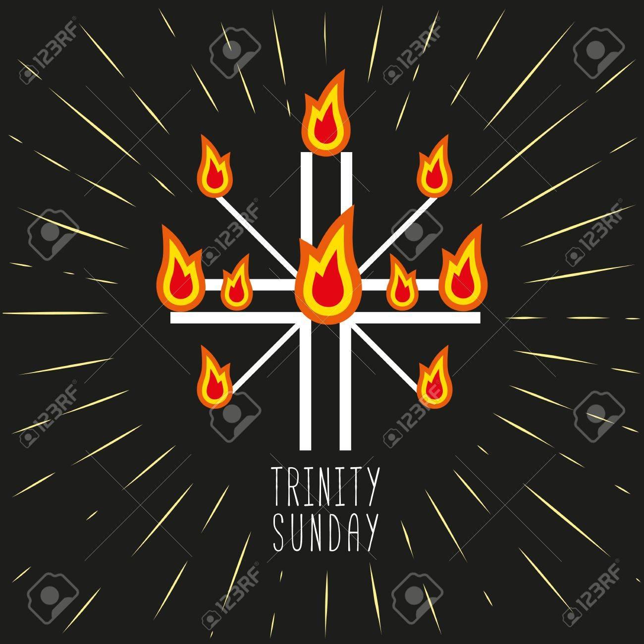 Church Symbols Christian Holiday Concept Holy Spirit Jesus