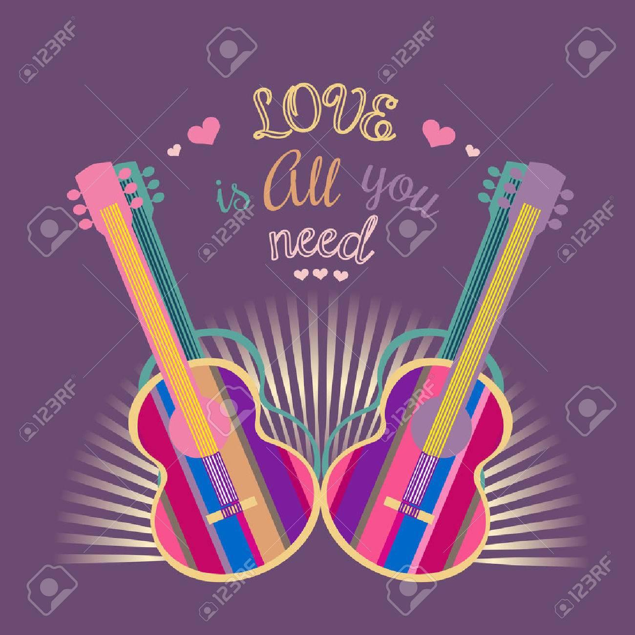 Motivado Famosa Cita De La Música Del Amor Es Todo Lo Que Necesita ...