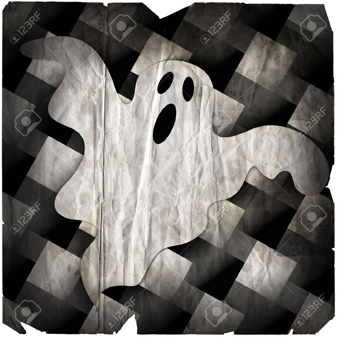 Illustration of a ghost Stock Photo - 235128