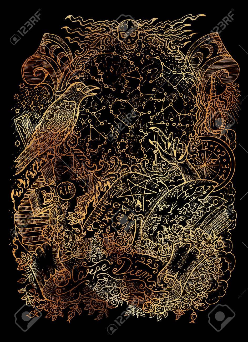 Concept Art Fantasy Warlock