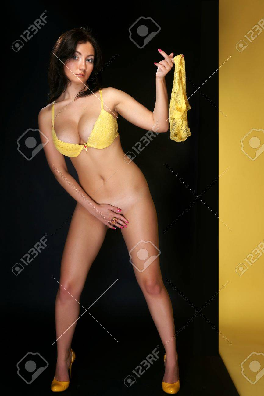 Blond Yellow Smiley Face Panties Images