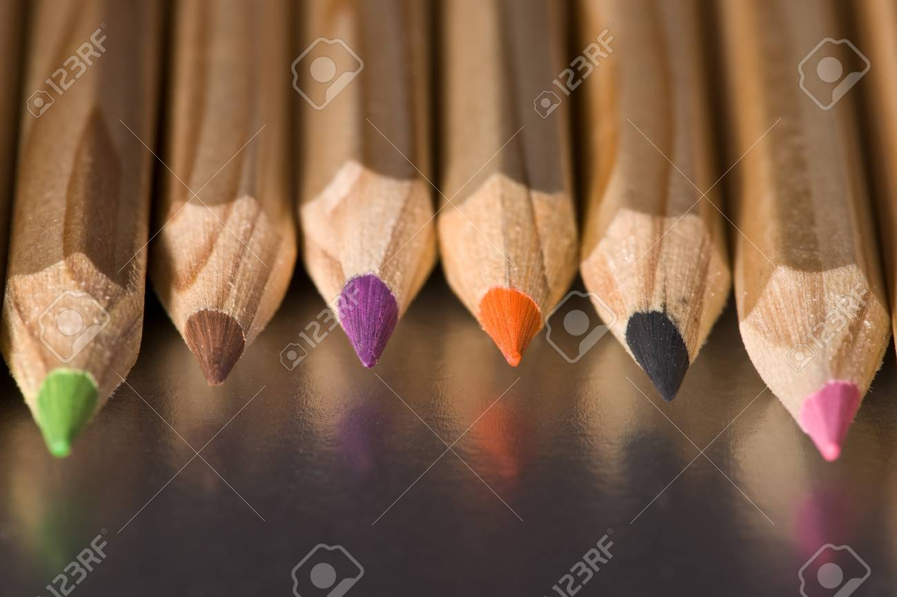 Colorful pencils Stock Photo - 13403037