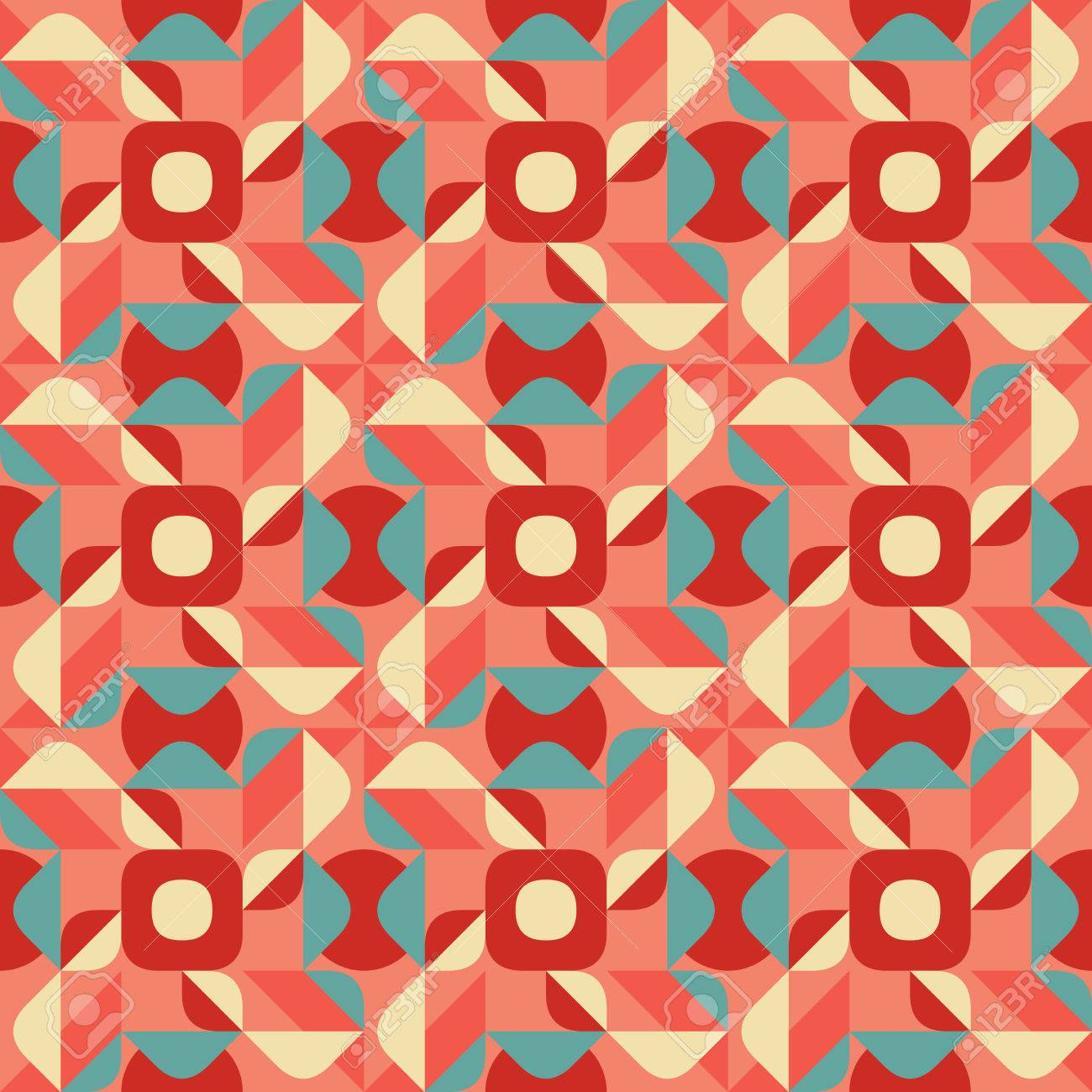 Vector Seamless Blue Pink Color Geometric Ethnic Quilt Pattern ... : ethnic quilt - Adamdwight.com