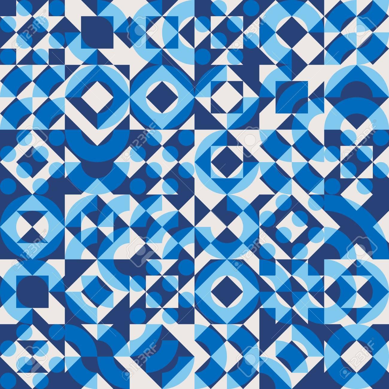 vector seamless bleu marine couleur superposition blocs géométriques