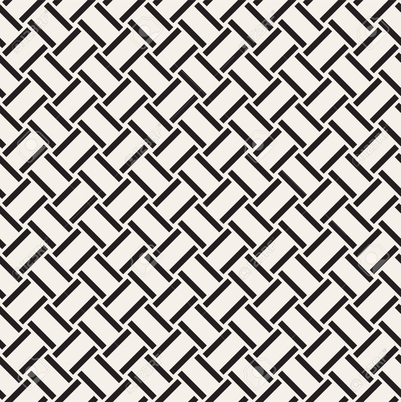 Crosshatch Vector Patrón Geométrico Sin Fisuras. Cruzado Rectángulos ...