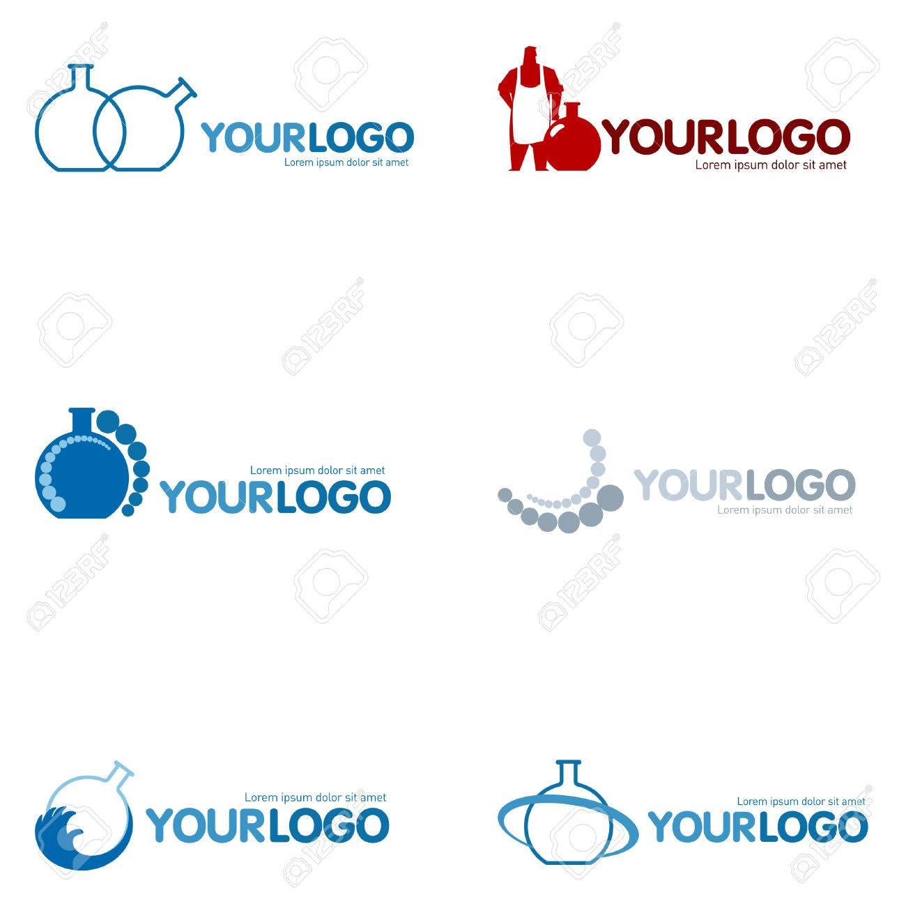 Set Of 9 Modern Logo Design Set Logotypes For Different Companies