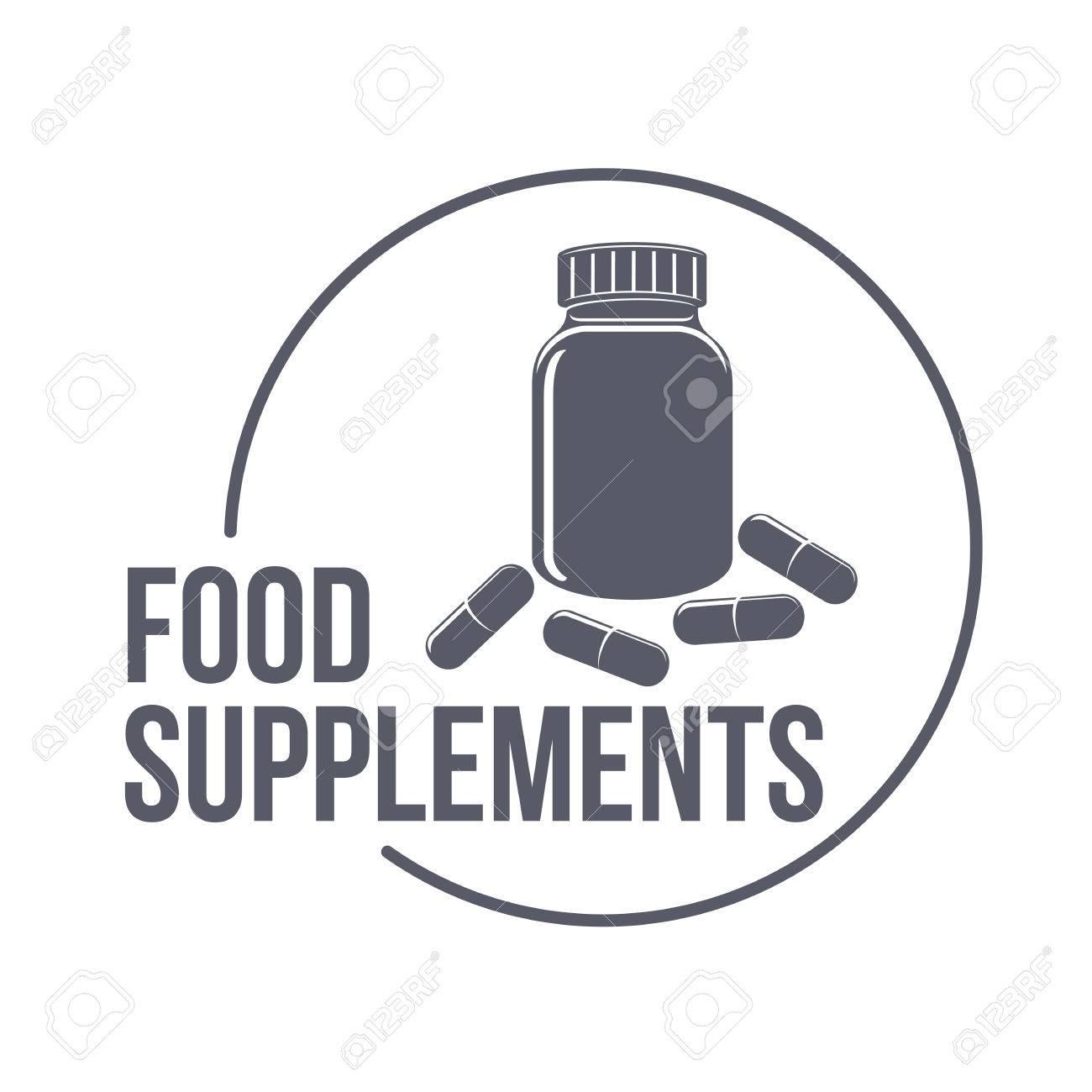 Sport Nahrungsergänzungsmitteln Logo-Vorlagen. Fitness, Aerobic ...