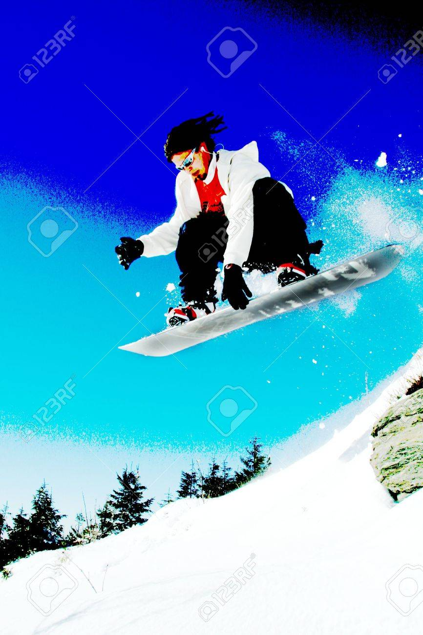 snowboarder Stock Photo - 11994798