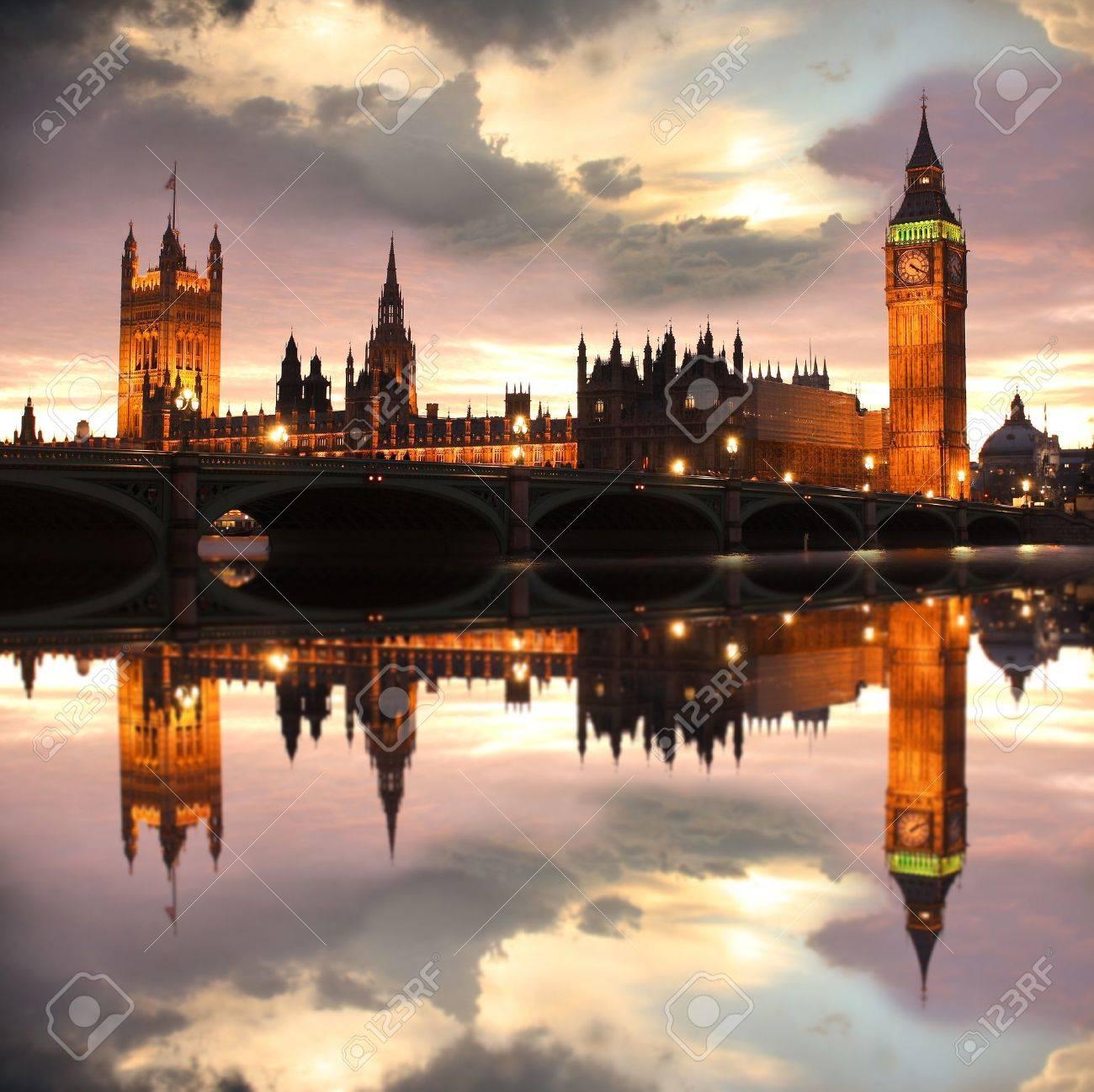 Big Ben in the evening, London, UK Stock Photo - 11997051