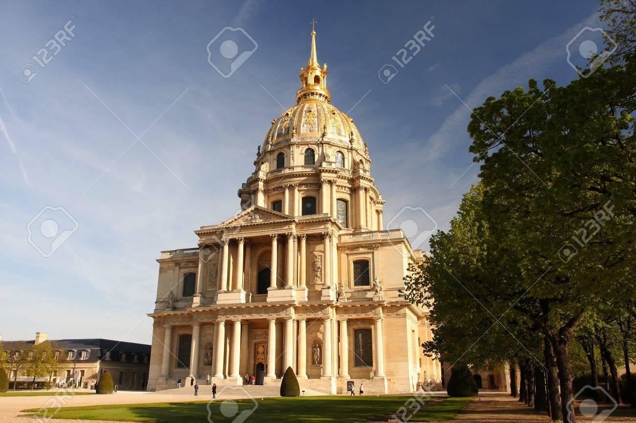 Paris, Les Invalides in spring time, famous landmark, France Stock Photo - 12091923
