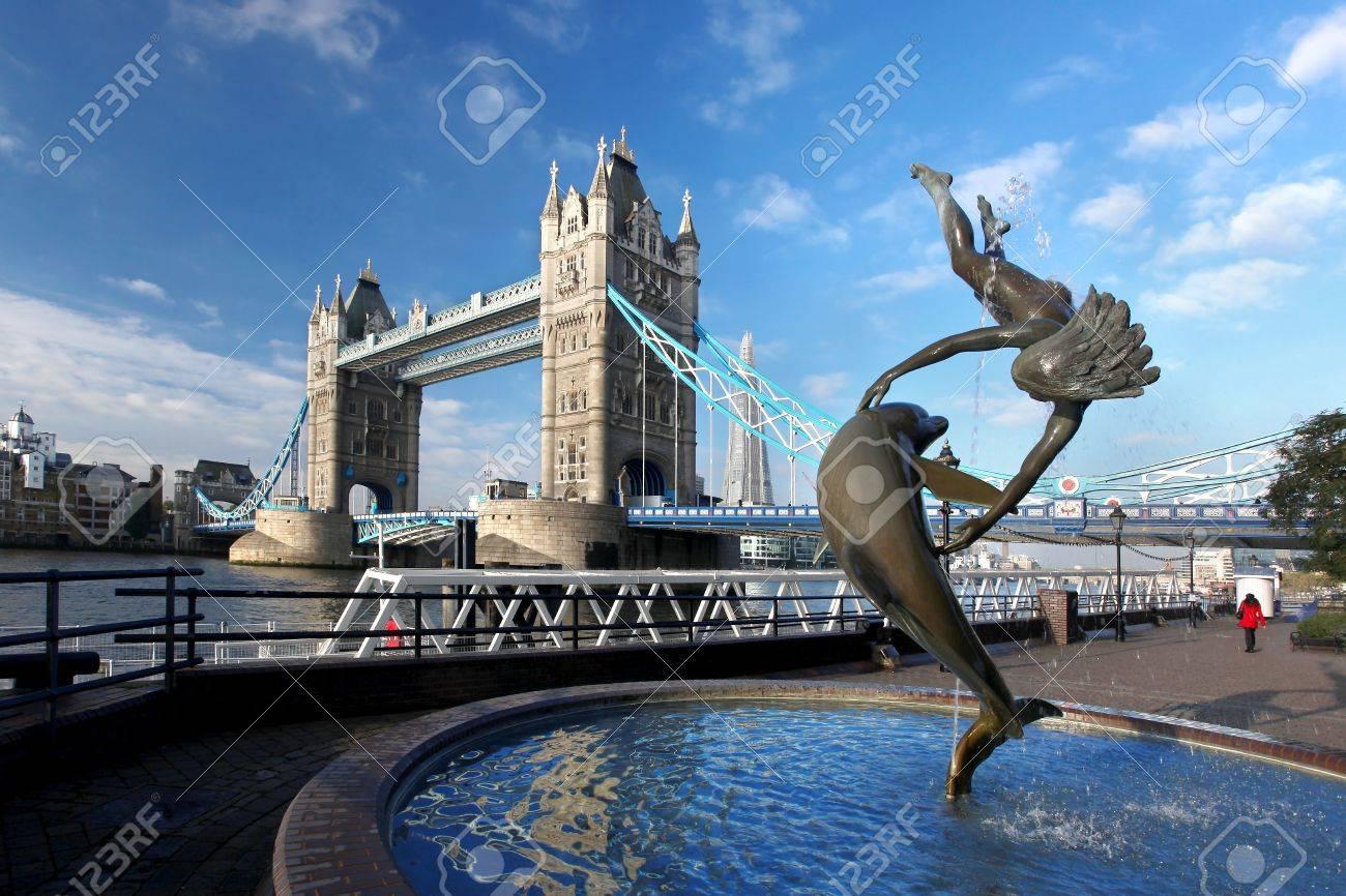 Famous Tower Bridge in London, England - 15977206