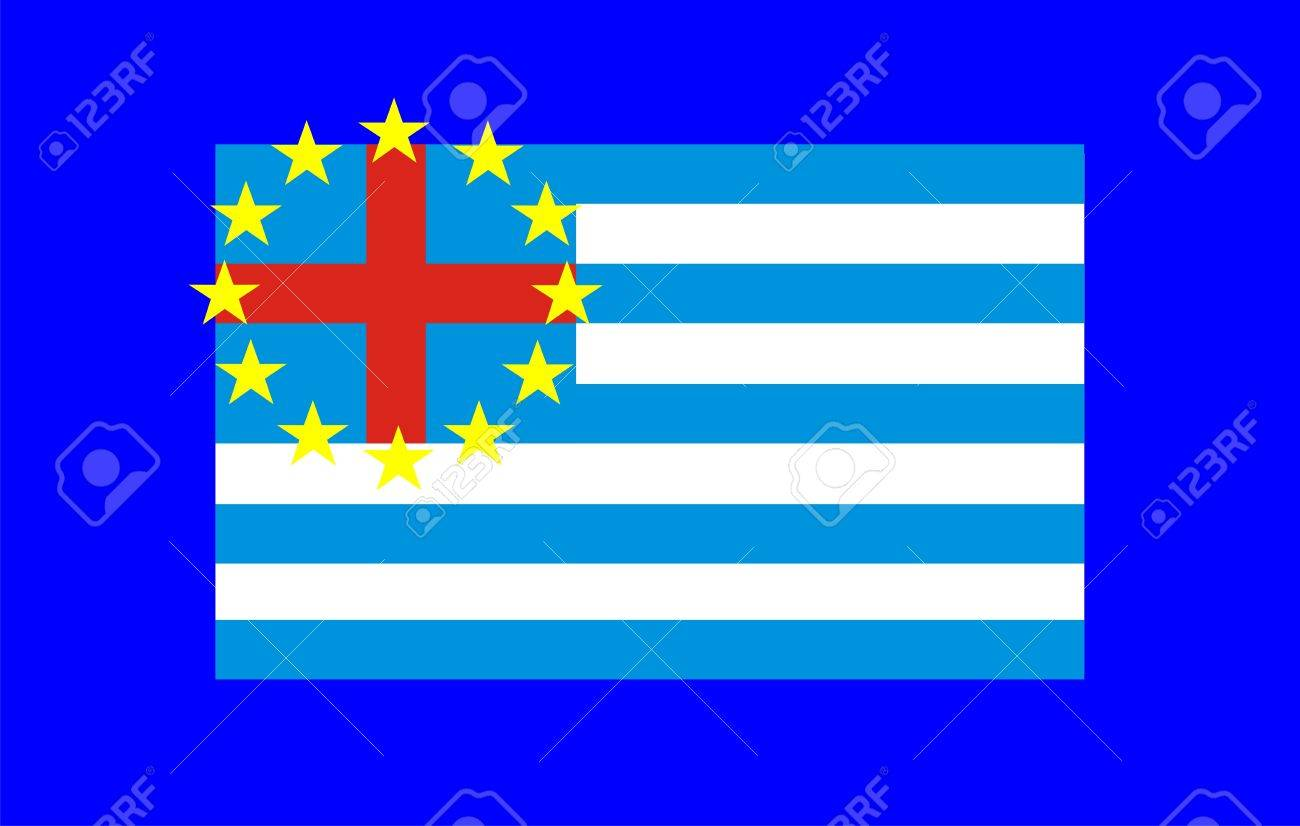 Greek crisis in europe with european and greek symbols stock photo greek crisis in europe with european and greek symbols stock photo 12082705 buycottarizona