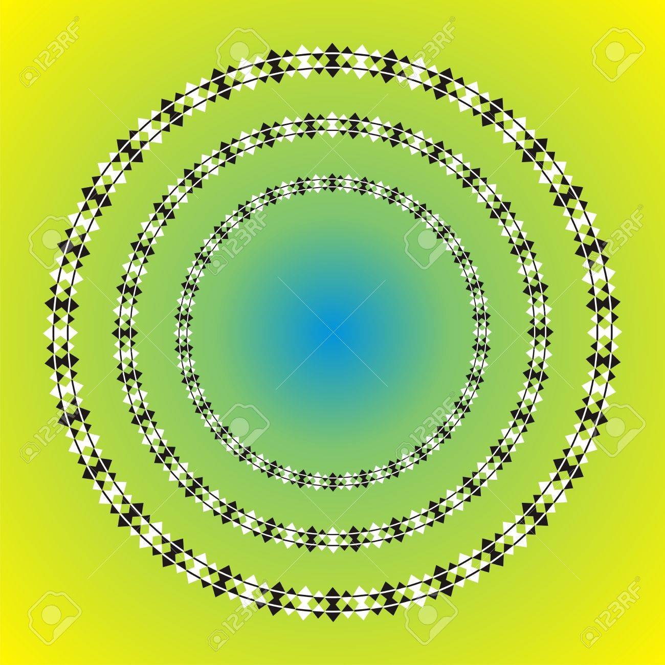 Spiral or round illusion Stock Vector - 16685187