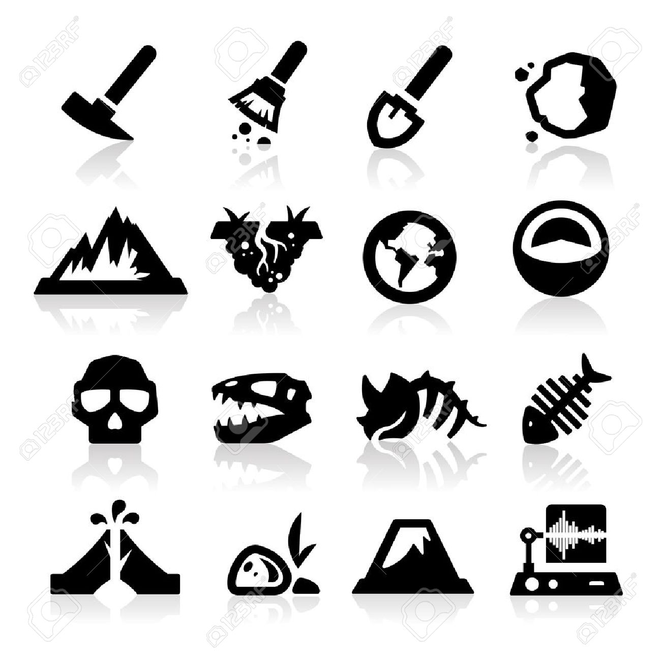 Geology icon Stock Vector - 14676402