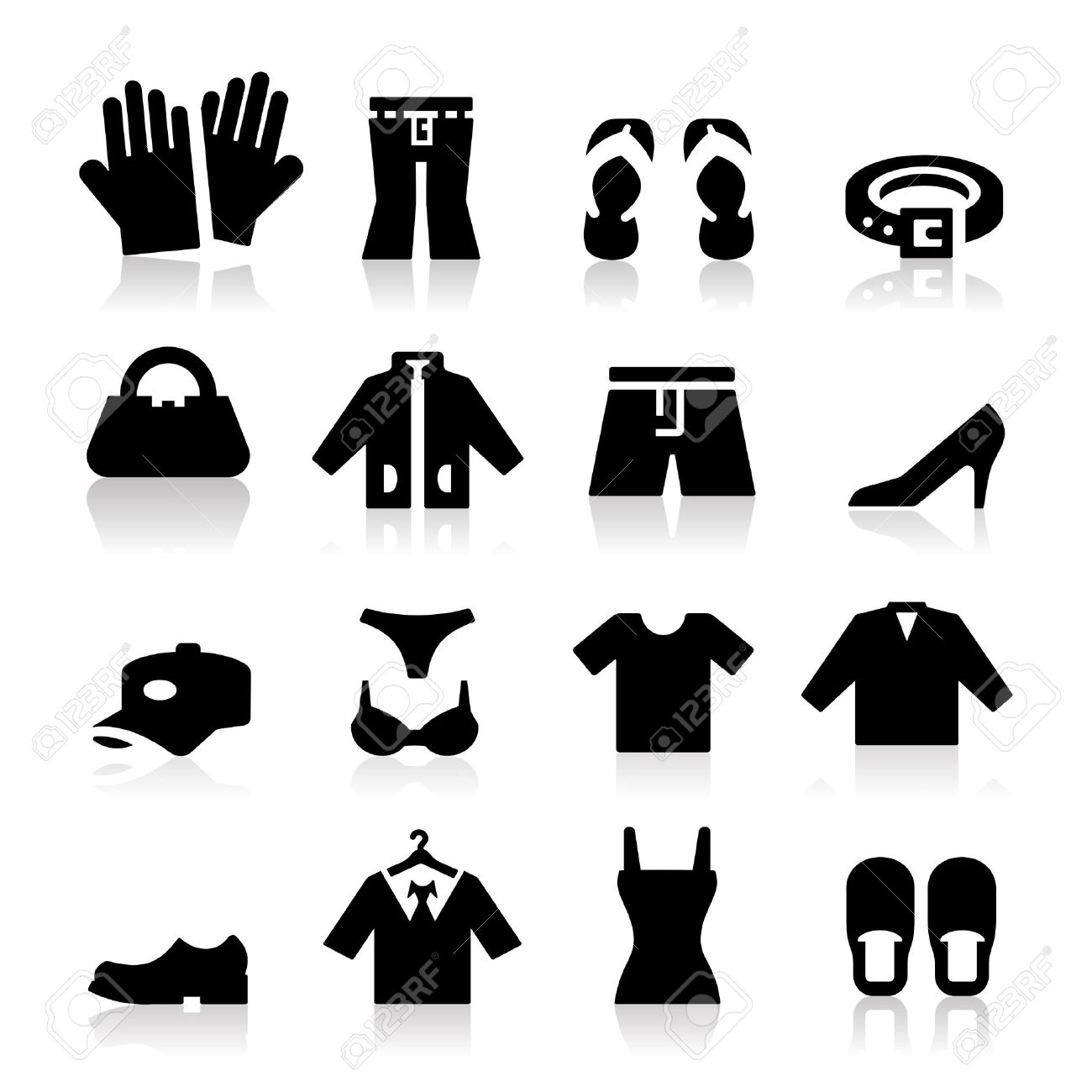 Clothing Store shopping Icon vector (fashion