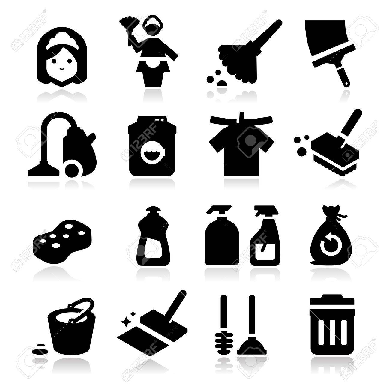 Cleaning Icons - 20735682