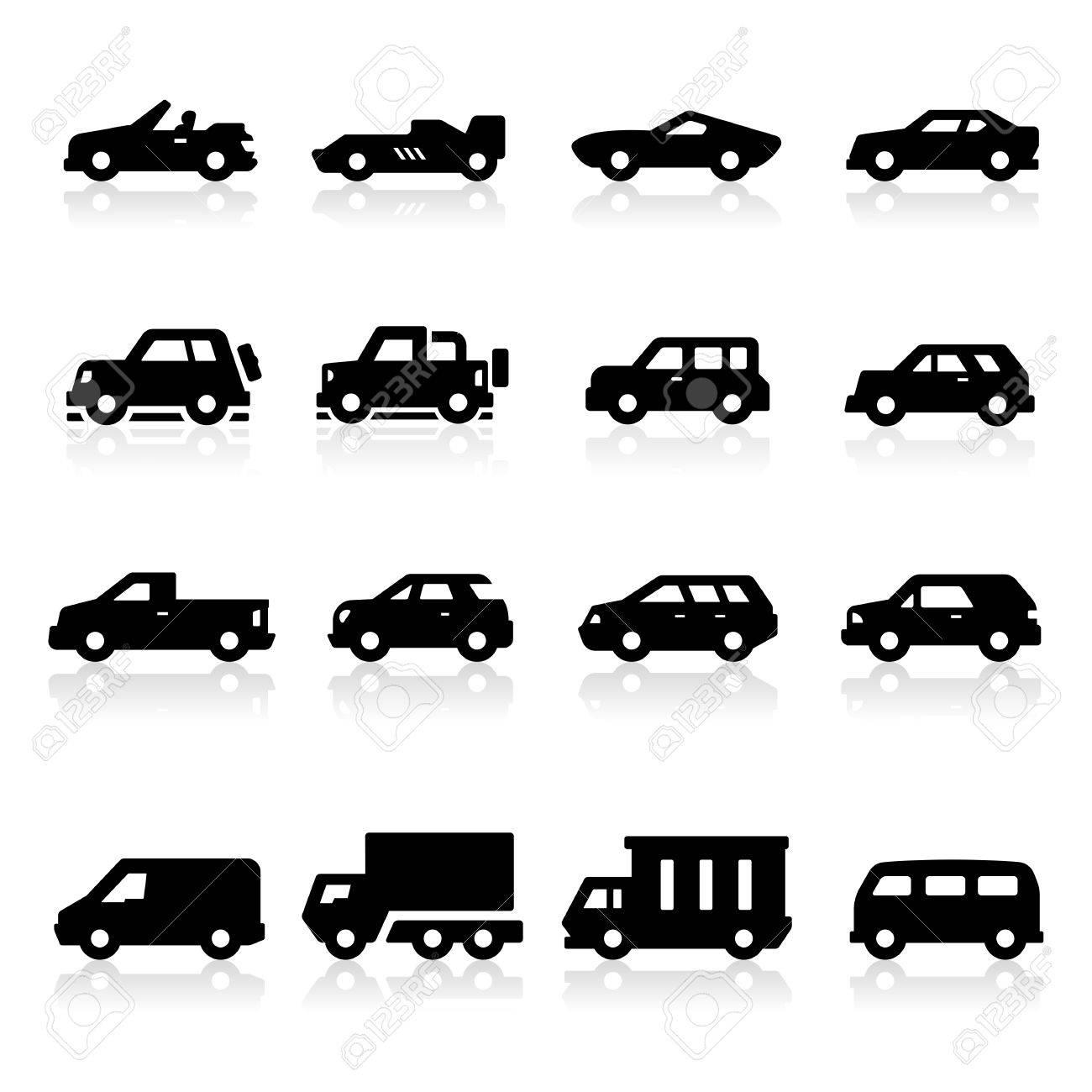 Cars Icons three - 23103908