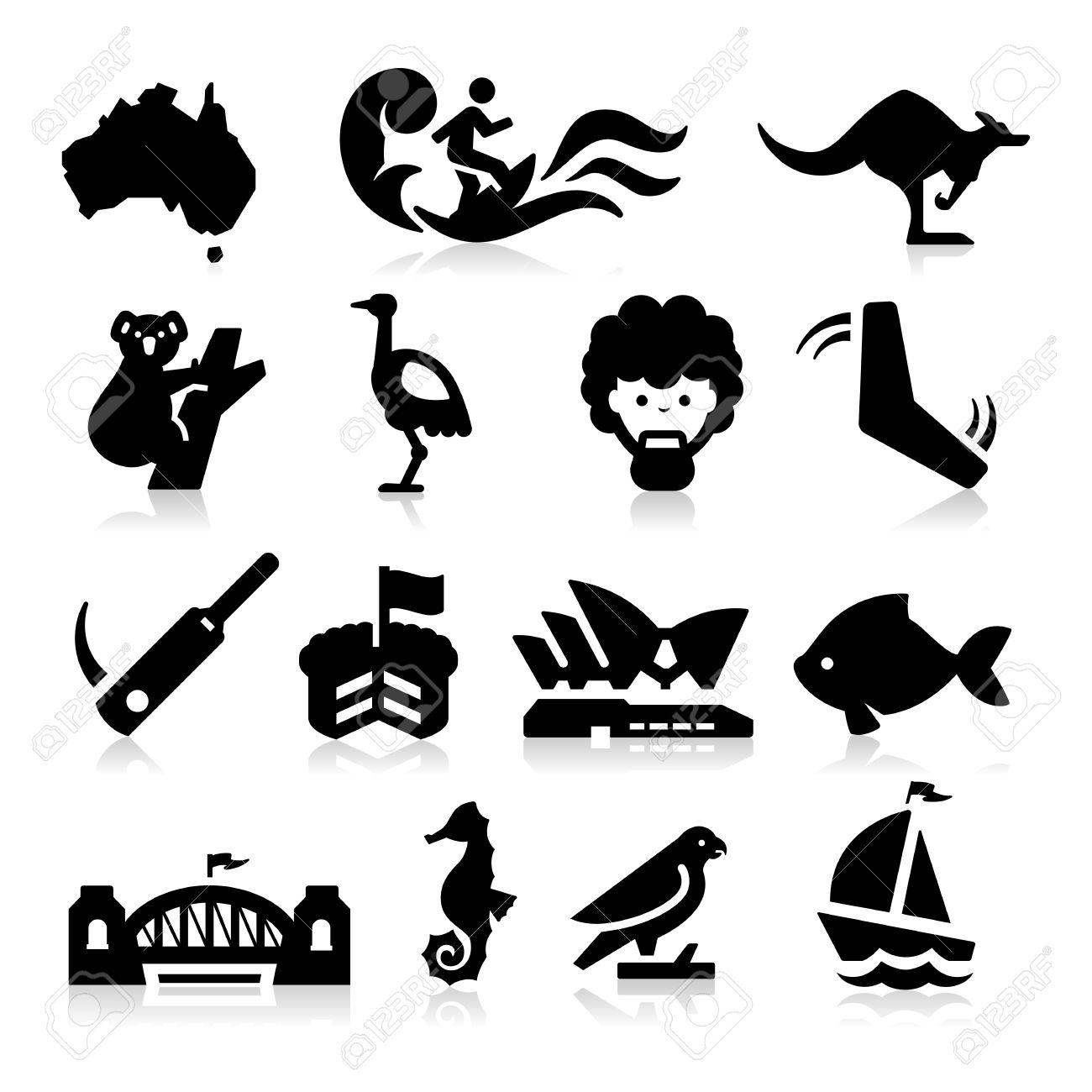 Australia Icons - 25435238