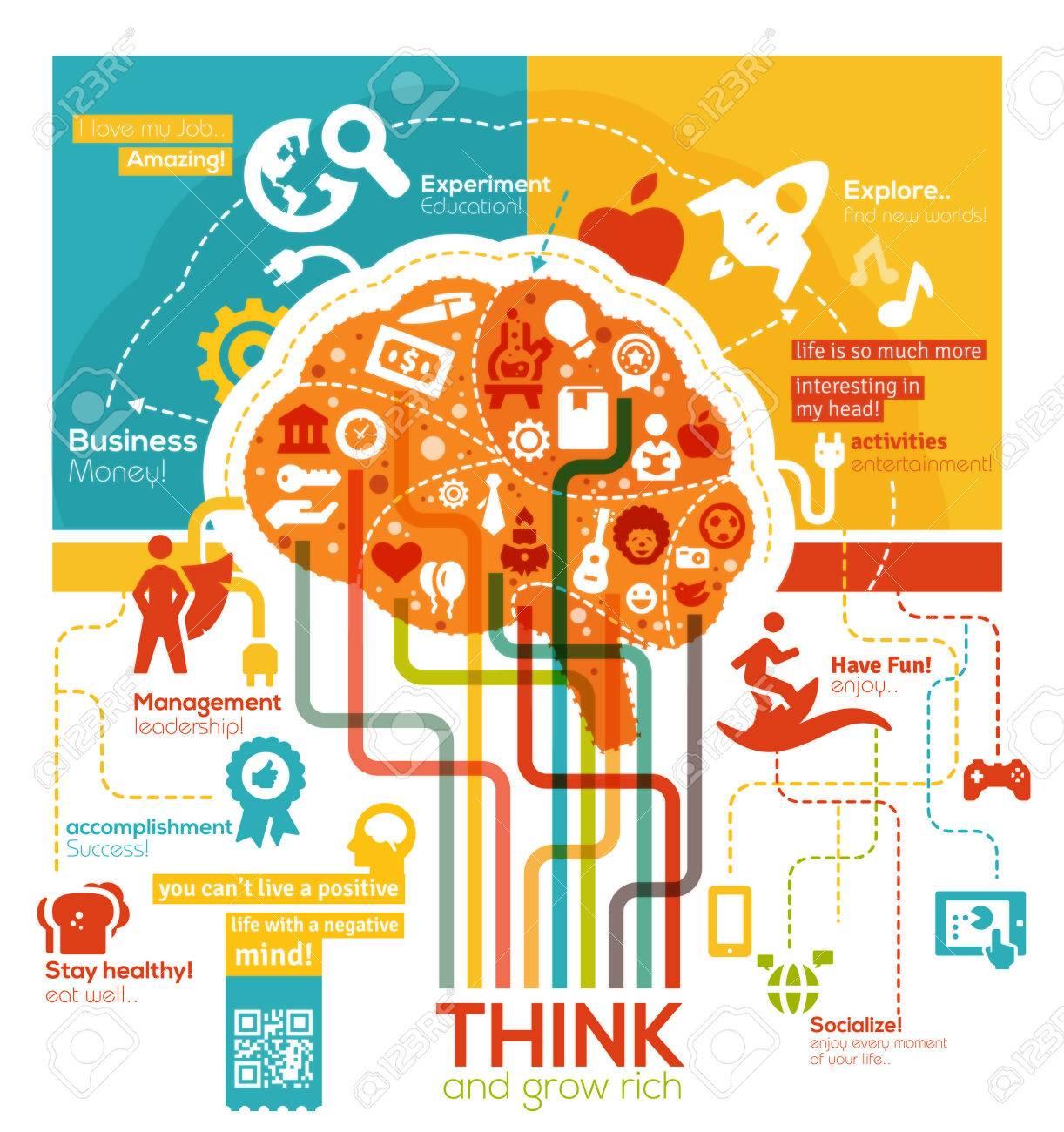 Creative Brain Illustration - 28224434