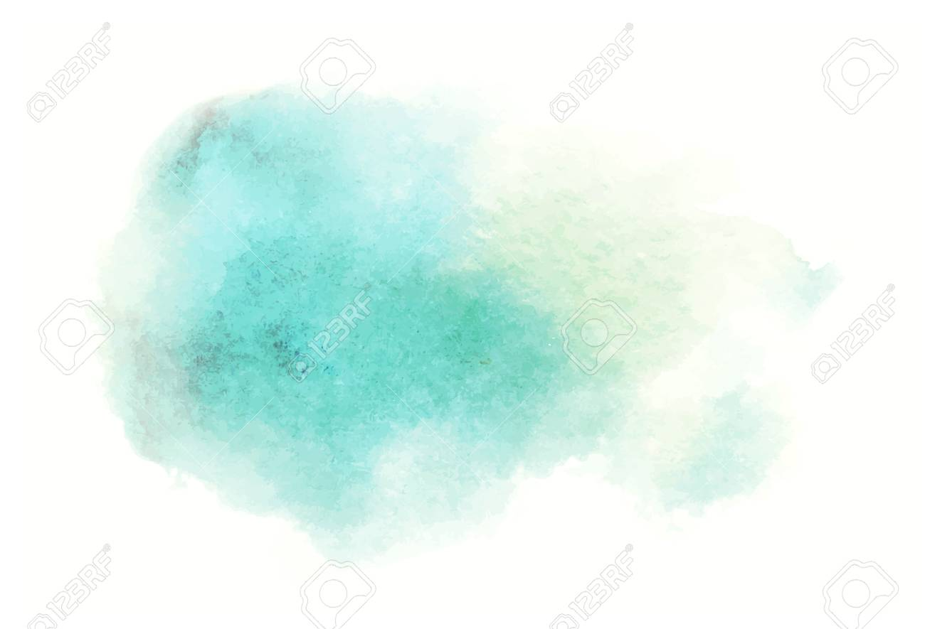 blue watercolor splash vector painted water color background - 87626823