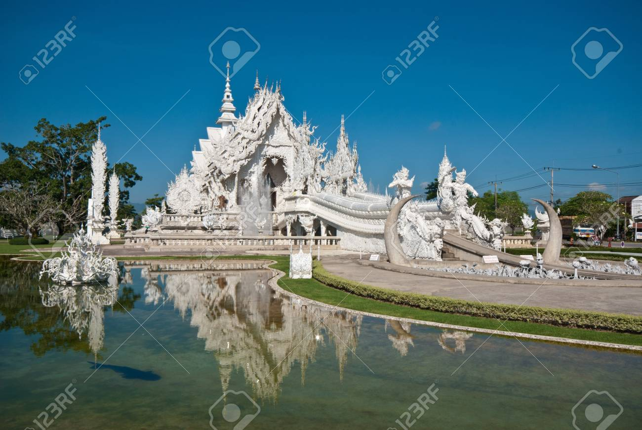 Thai north temple Stock Photo - 9595268