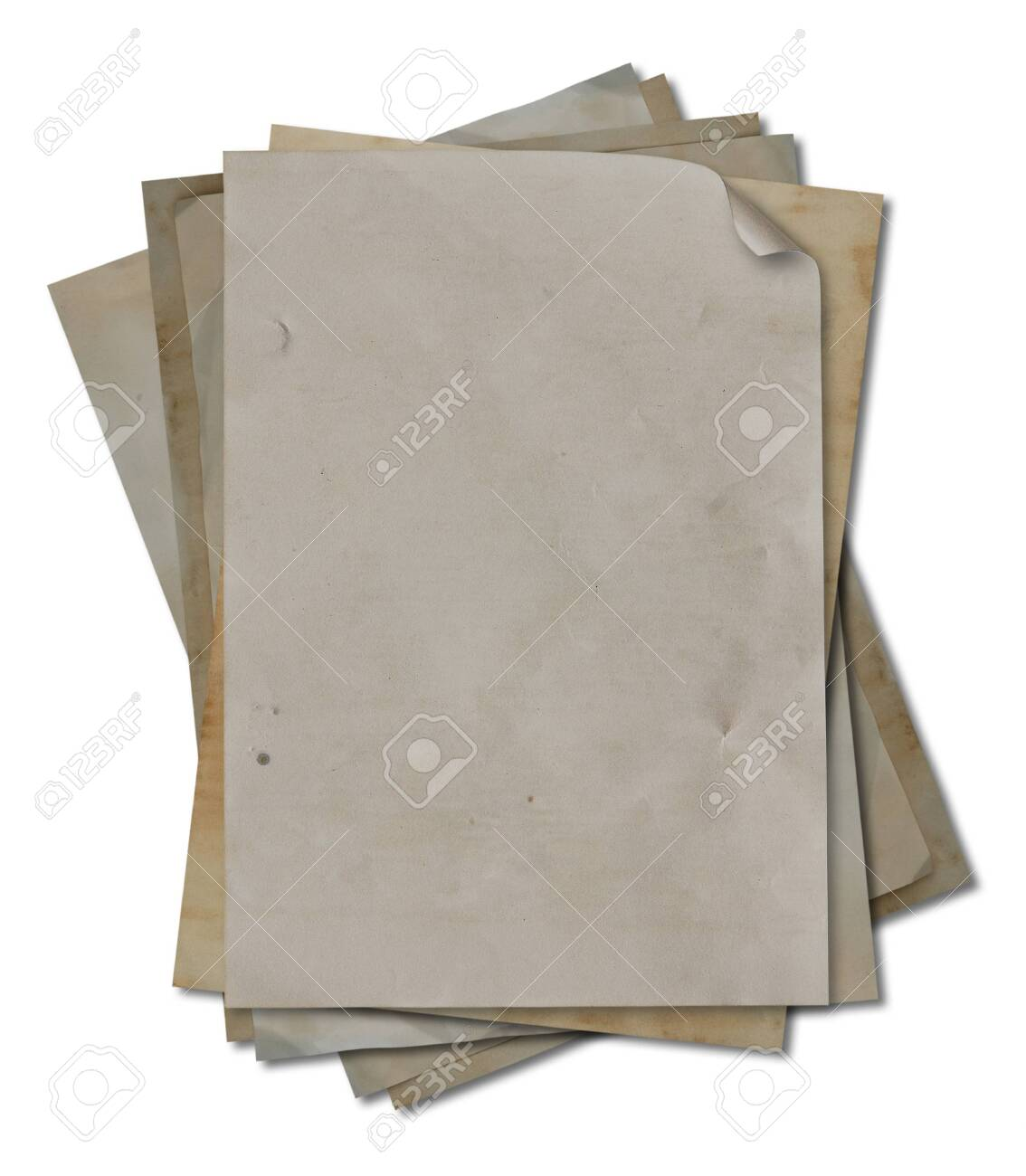 blank vintage paper detail Stock Photo - 9788020