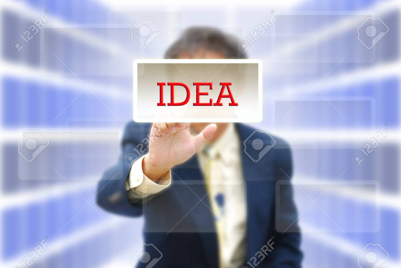 Attractive artwork for business from asian businessman selection. Stock Photo - 10557044
