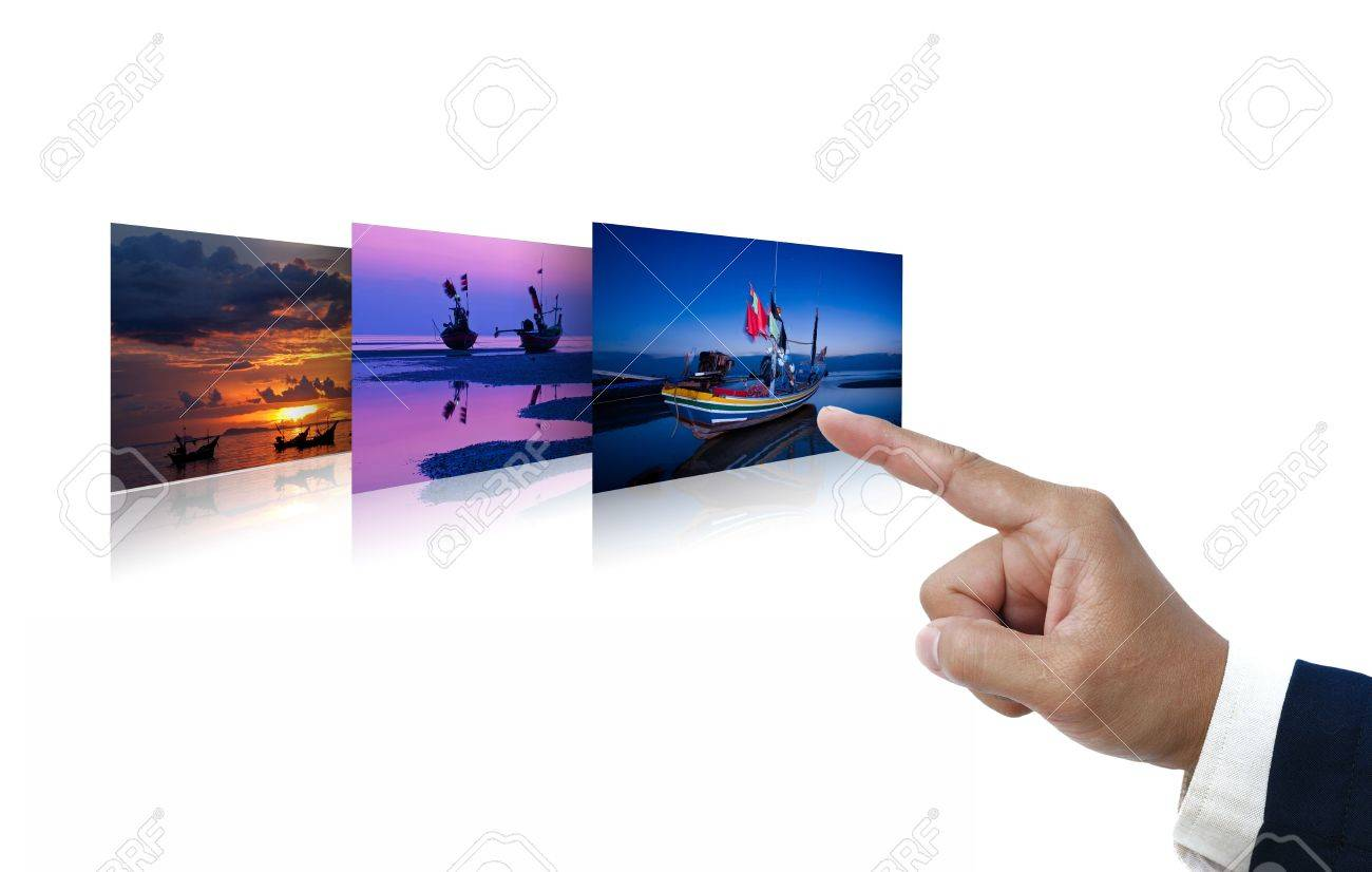 selections idea on white background. Stock Photo - 11413170