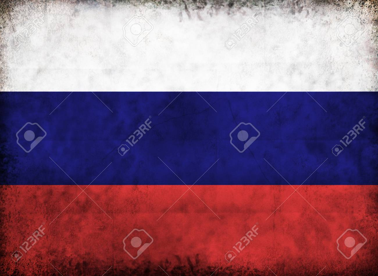 Grunge European flag from old dirty paper background. Stock Photo - 12838978