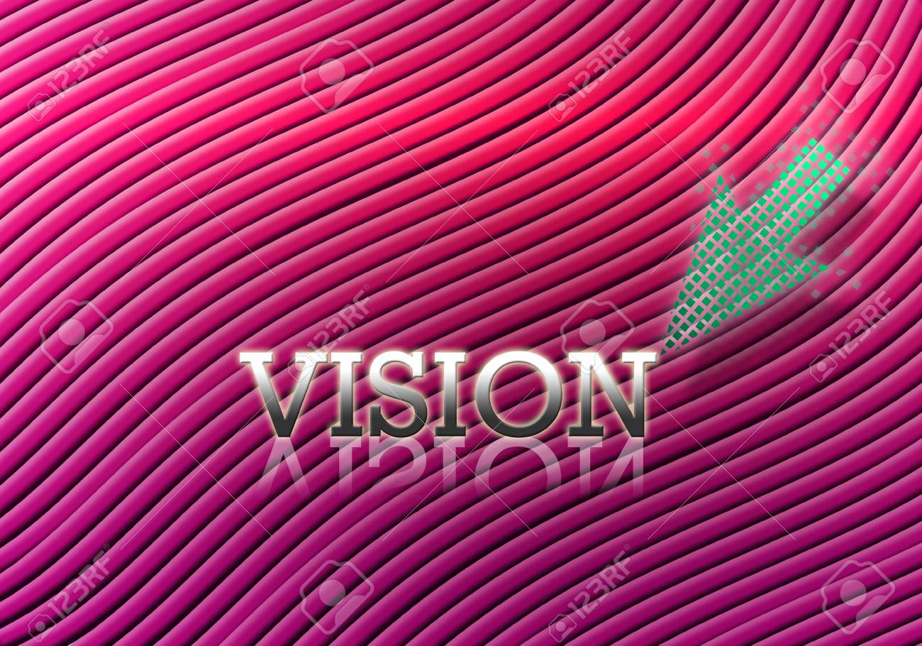 Attractive artwork of business wording on curly pink abstract background. Stock Photo - 14264050