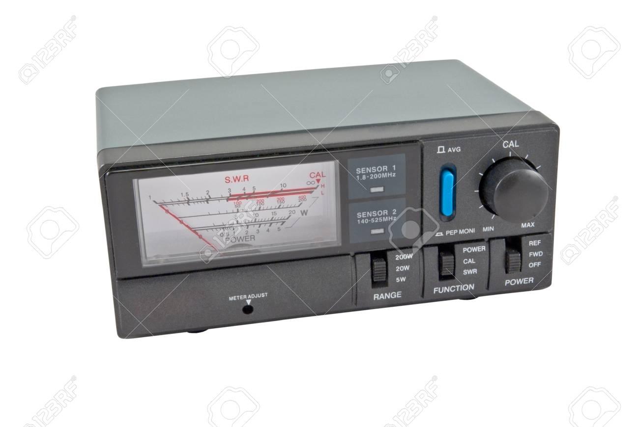 measuring device SWR& Power meter Stock Photo - 8469691