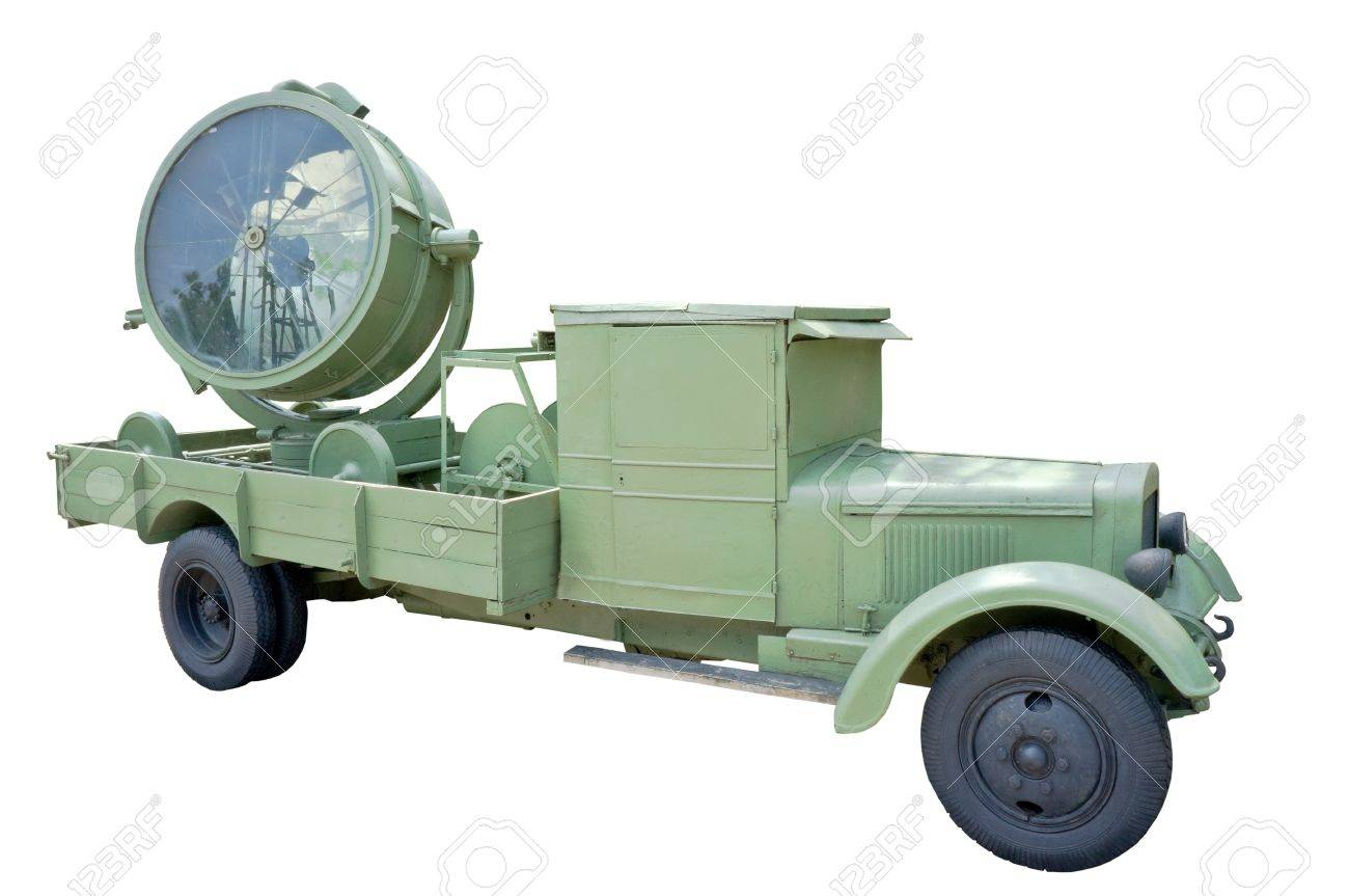 Old World War 2 Carbon Arc Searchlight Stock Photo, Picture And ... for Carbon Arc Searchlight  58lpg