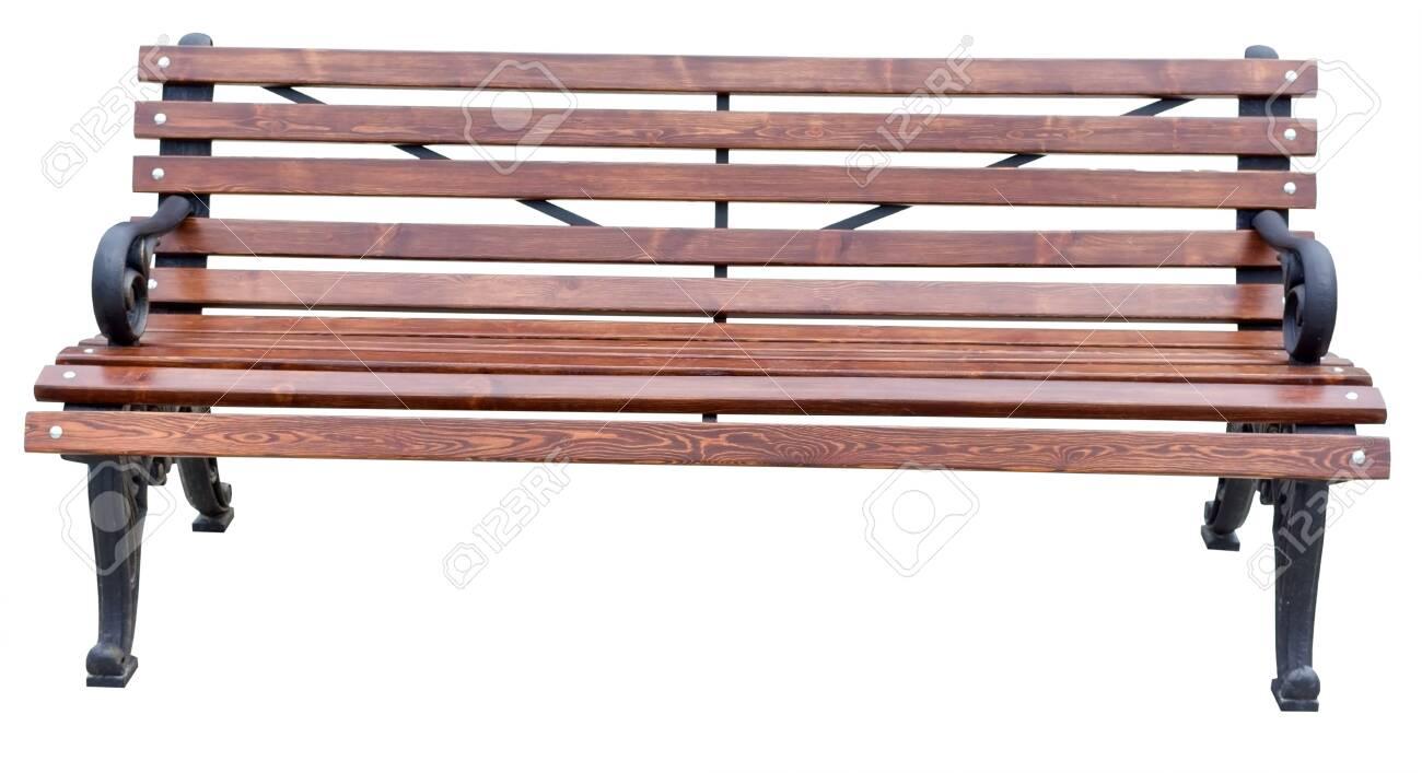 Stupendous Park Bench Isolated On White Background Ibusinesslaw Wood Chair Design Ideas Ibusinesslaworg