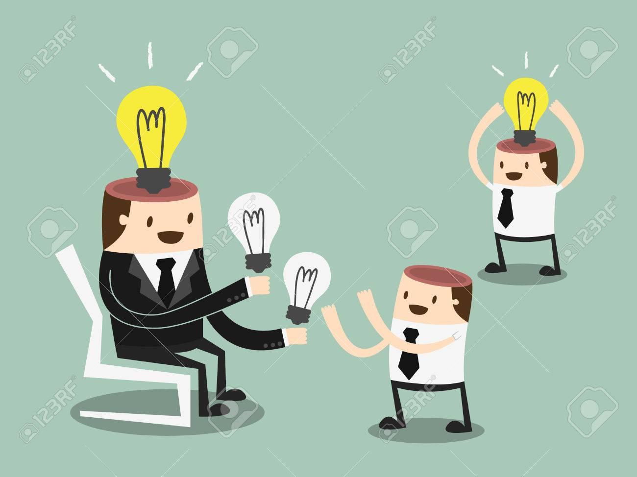 Share Ideas illustration - 26068929