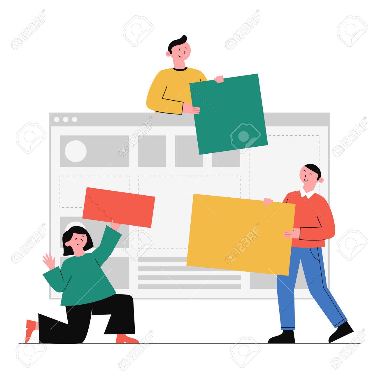Business concept vector illustration. - 162422136