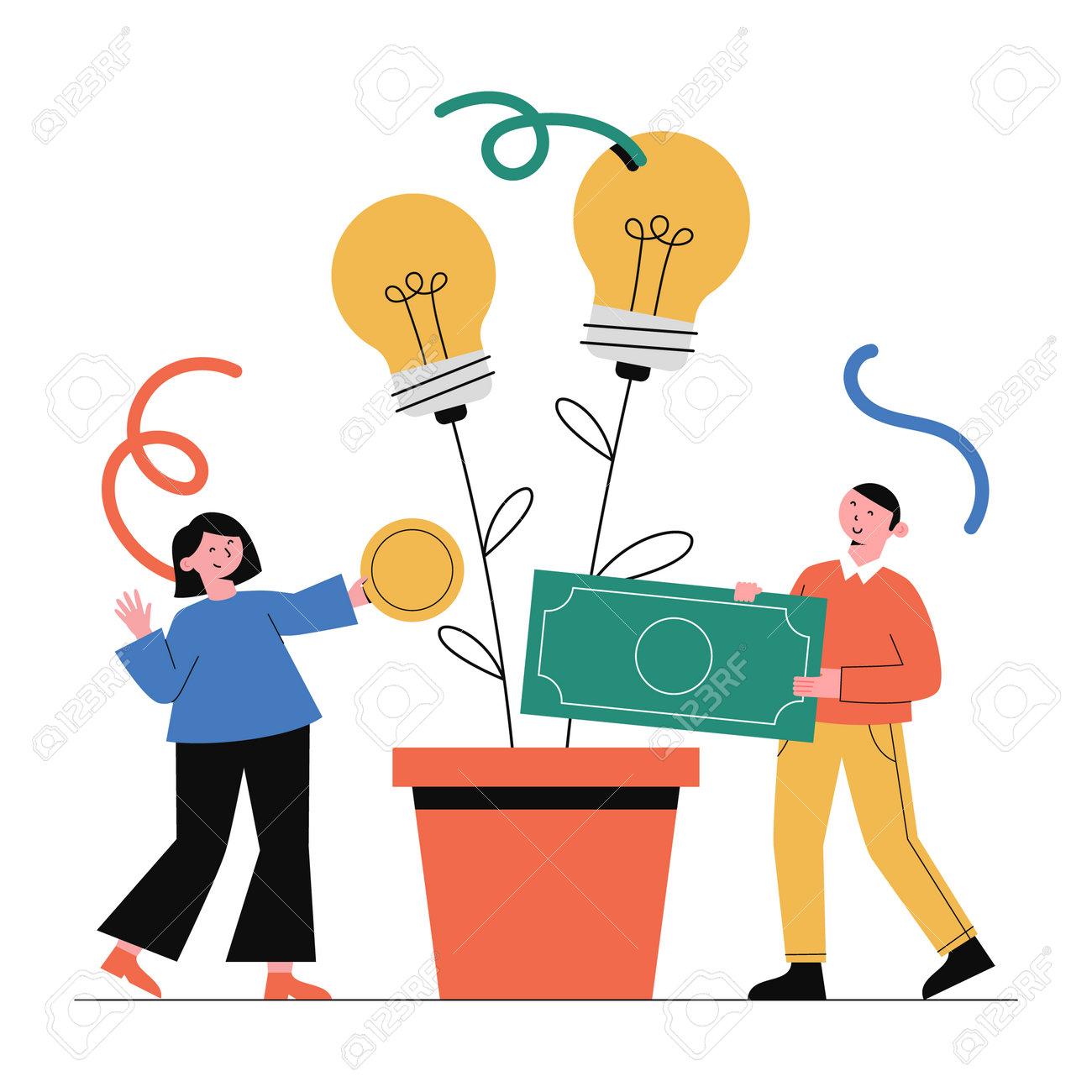 Business concept vector illustration. - 162421405