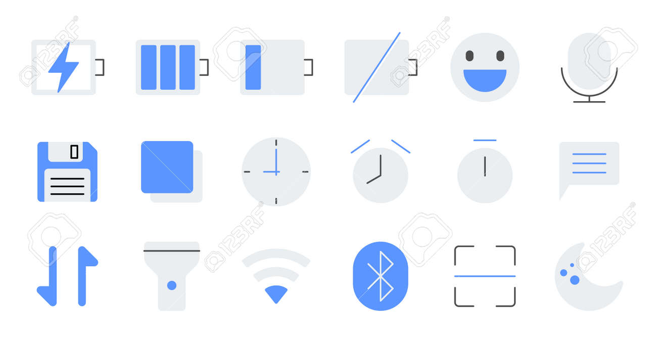 Simple icon set contains such Icons as bathrobe, pajamas, socks, shoes, and more - 166684832
