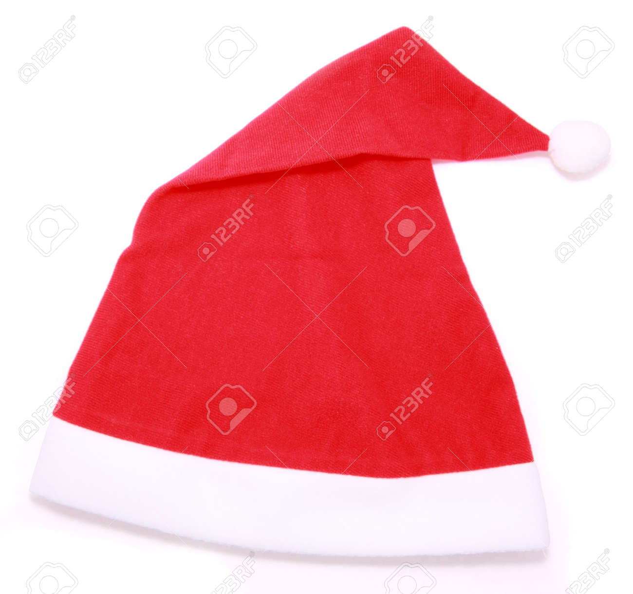 b6291a5e146 Santa hat isolated on white background Stock Photo - 3908180