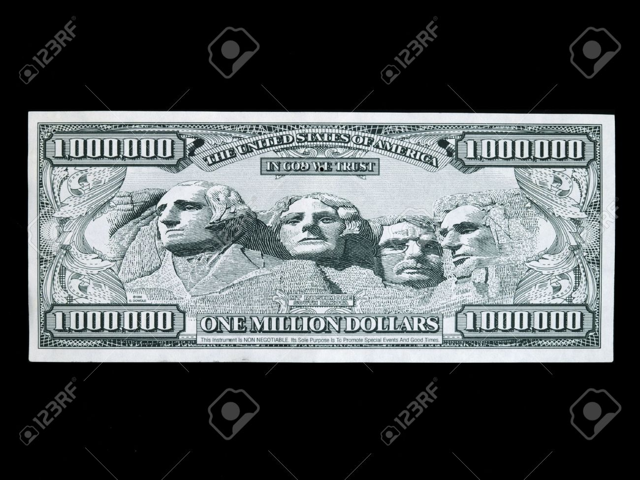 image relating to Fake Million Dollar Bill Printable referred to as untrue a single million greenback monthly bill