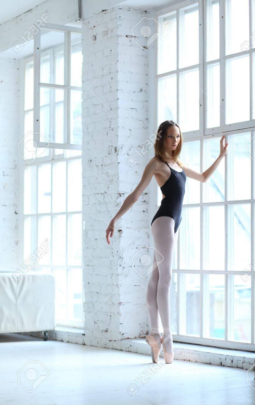 modern style dancer posing on studio background Stock Photo - 7718957