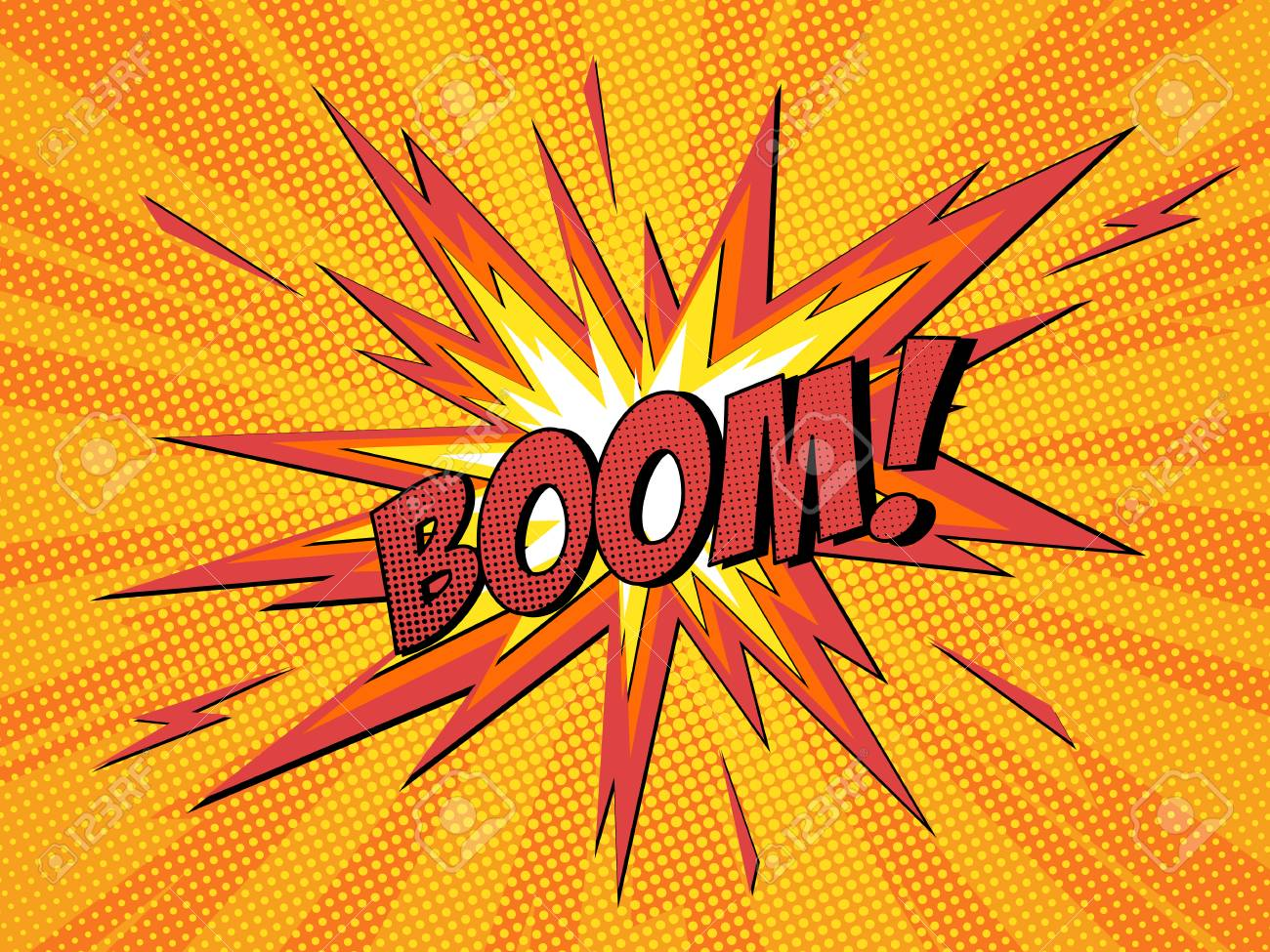 boom comic speech bubble cartoon lightning blast vector illustration royalty free cliparts vectors and stock illustration image 98887680 boom comic speech bubble cartoon lightning blast vector illustration