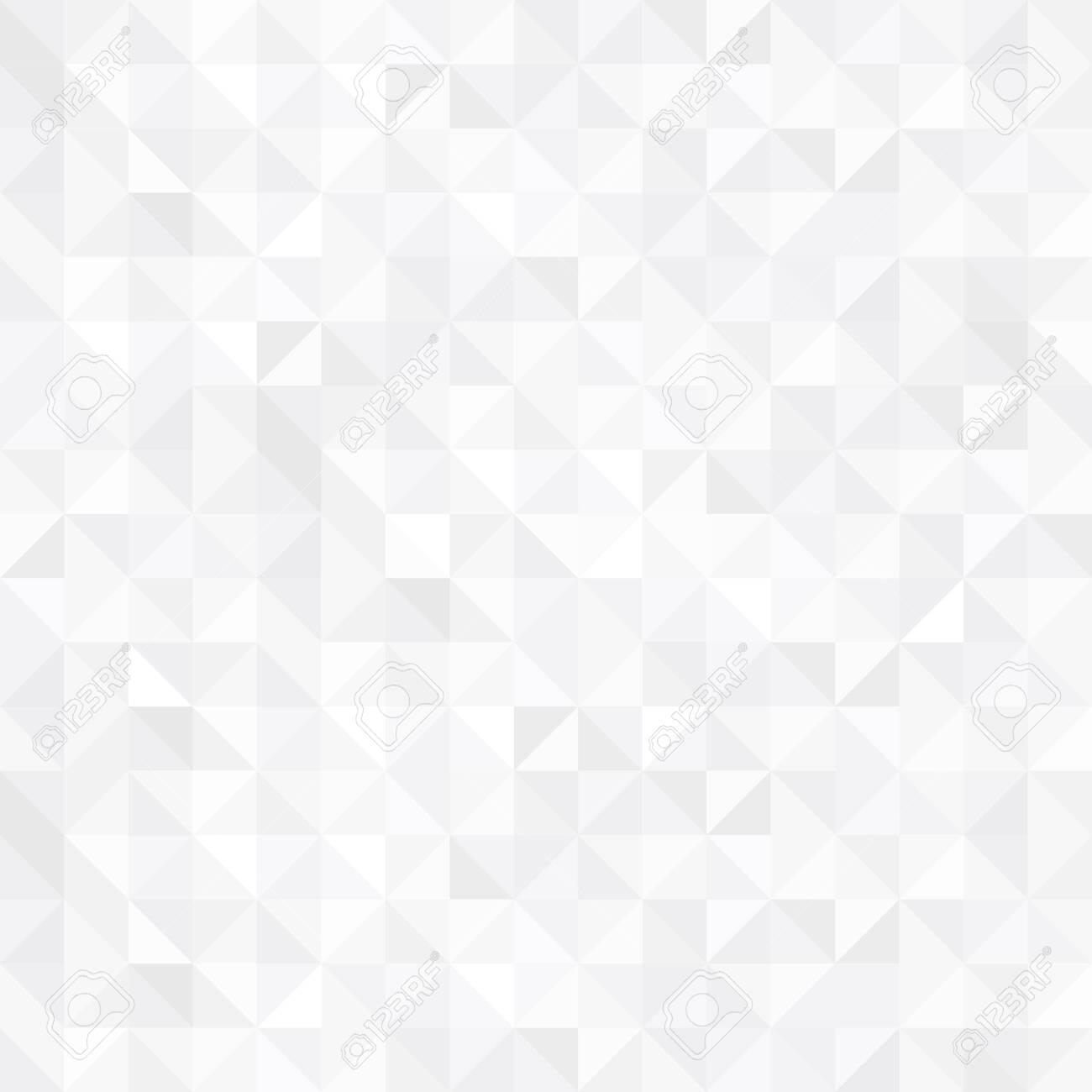 Seamless geometric pattern. Abstract triangular background. - 137166630